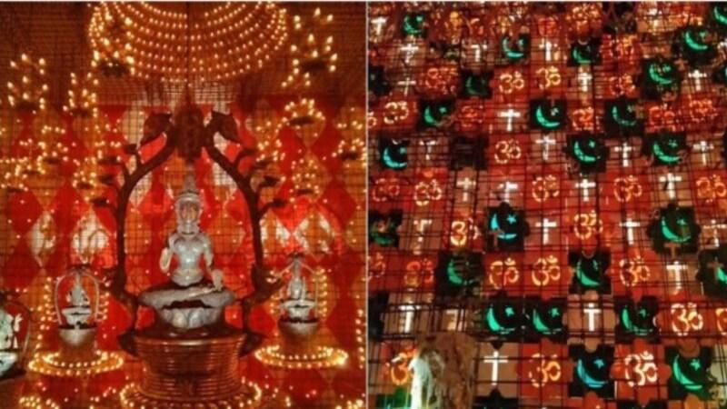 जिस दुर्गा पंडाल की लोगों को तारीफ करनी चाहिए थी, अब उसी के खिलाफ केस हो गया है