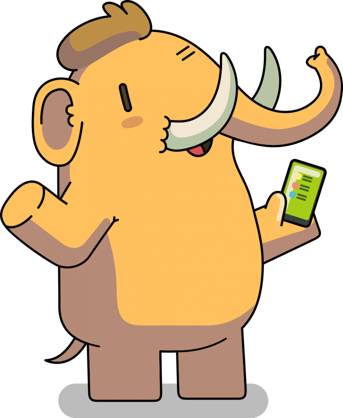 Elephant Friend (greeting)