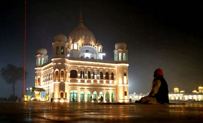 Kartarpur Sahib In Night