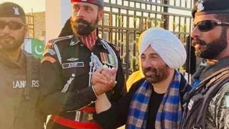 सनी देओल ने पाकिस्तानी रेंजर्स से हाथ मिलाया, तो ट्विटर पर लोग उन्हें सिद्धू बुलाने लगे