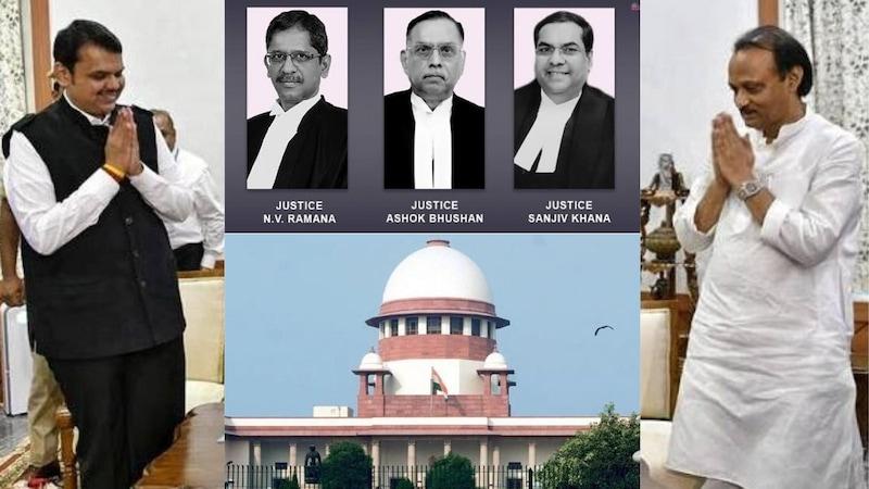 महाराष्ट्र पर सुनवाई के दौरान सुप्रीम कोर्ट में क्या हुआ?