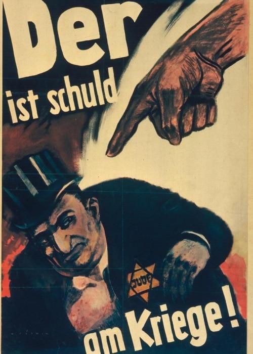 हिटलर के दौर का पोस्टर जिसने युद्ध के खिलाफ कड़ी आवजों को चुप करवा दिया था.