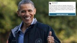 बराक ओबामा ने अपने फेवरेट गानों की लिस्ट बताई, एक गाना इंडियन सिंगर का निकल आया