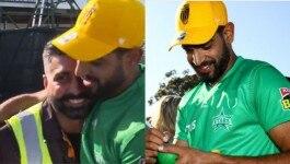 पाकिस्तानी बोलर ने इंडियन सिक्योरिटी गार्ड को खुशी-खुशी में ये क्या दे दिया?