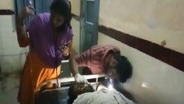 हैदराबाद रेप: आरोपी के पिता को ACP की कार ने टक्कर मारी, हालत गंभीर