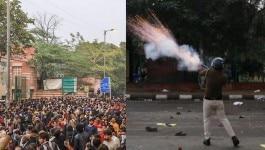 जामिया CAB प्रदर्शनः पुलिस के आंसू गैस गोले से छात्र का अंगूठा फट गया