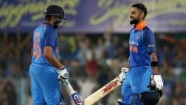 मैच वेस्टइंडीज़ के खिलाफ है, लेकिन मज़ेदार रेस विराट और रोहित के बीच देखने को मिलेगी
