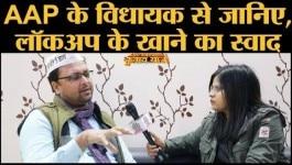 दिल्ली चुनाव: AAP के विधायक ऋतुराज गोविंद ने कहा कि लोग गाली दे रहे थे इसलिए सड़क बनवाई
