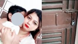 दिल्ली: तीन दिन से घर में ताला लगा था, बदबू आई तो पता चला मां-बेटे का मर्डर हुआ है