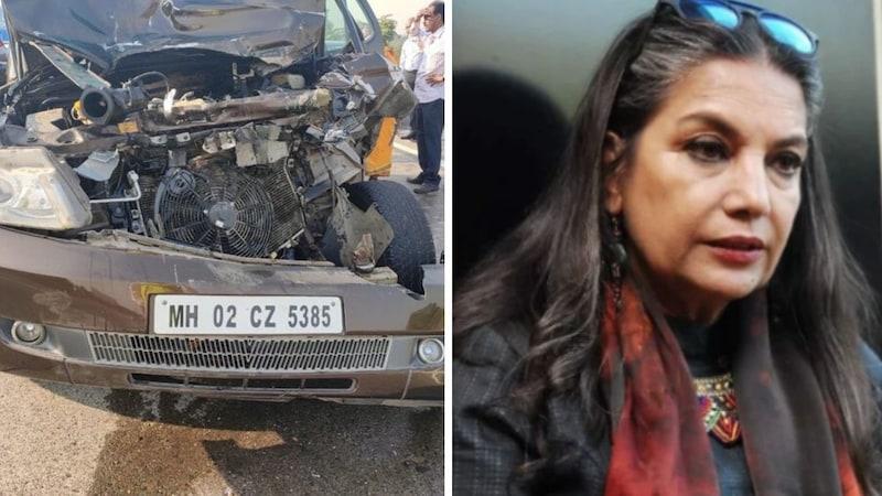 शबाना आज़मी सड़क हादसे में गंभीर रूप से घायल, जावेद अख़्तर भी साथ थे
