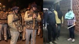 जेएनयू हिंसा: दिल्ली पुलिस ने एफआईआर में कहा, दोपहर से कैंपस में थी पुलिस मौजूद