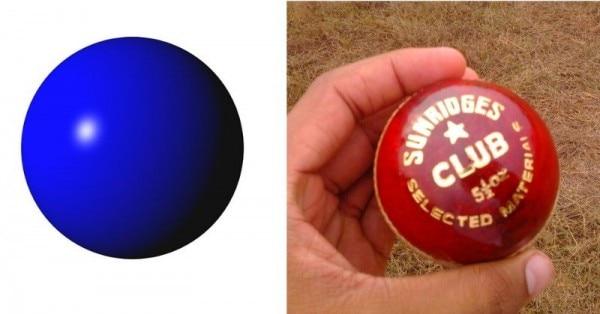 प्लास्टिक की बॉल और कॉर्क की बॉल. (सोर्स - विकिमीडिया)