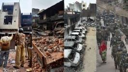 दिल्ली दंगा : मरा है या नहीं, ये चेक करने के लिए ज़िंदा शाहबाज़ पर पेट्रोल डालकर आग लगा दी गयी!