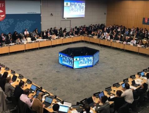 पेरिस में FATF की मीटिंग में 19 फरवरी से पाकिस्तान के स्टेटस पर बात हो रही है. फोटो: Twitter