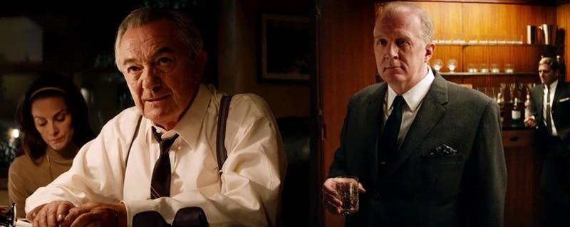 Remo Girone As Enzo Ferrari And Tracy Letts As Henry Ford 2 In 2019 Oscar Winning Film Ford V Ferrari