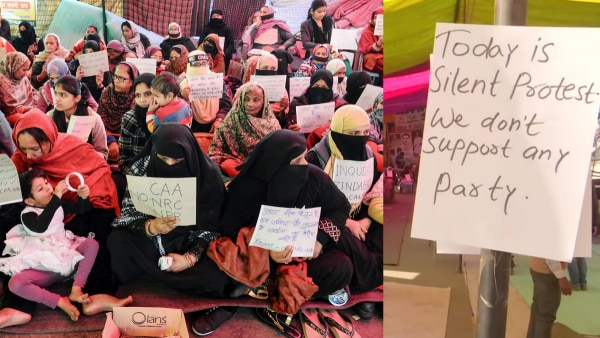 Shaheen Bagh Silent Protest 2