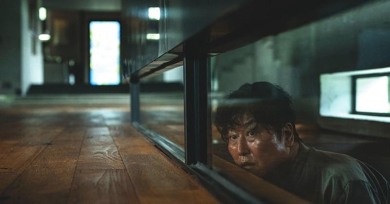 Song Kang Ho In Bong Joon Ho's Parasite Scene, Winner Of 2020 Oscar Award