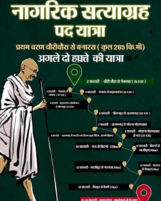 Nagrik Padyatra Satyagrah