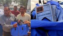 ये क्या! गुजरात में 10वीं बोर्ड के बच्चों की आंसर शीट सड़क पर पड़ी मिलीं