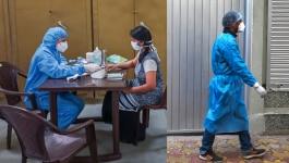 कोरोना के खतरे के बीच डॉक्टरों और नर्सिंग स्टाफ के सामने एक बड़ी मुसीबत आ गई है
