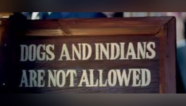 Dogs And Indian Not Allowed Rep Image