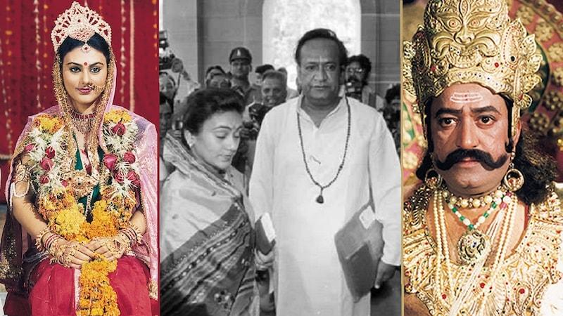 जब 'गांधी' ने 'रावण' पर राम को किडनैप करने का इल्ज़ाम लगाया