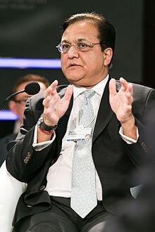 2012 में वर्ल्ड इकॉनमिक फोरम के दौरान राणा कपूर. फोटो: विकीमीडिया