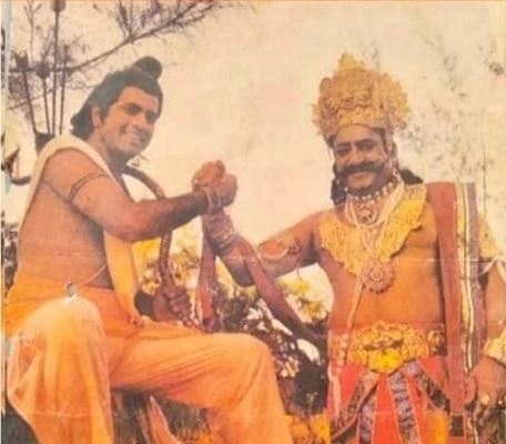 3. Shooting Time Ram Shaking Hands With Ravan