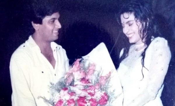 9. Sunil Lahri With Juhi Chawla