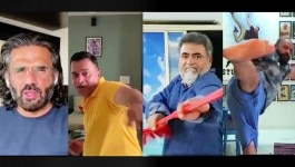 कोरोना पर बॉलीवुड का बेस्ट वीडियो जिसमें एक्शन डायरेक्टर्स ढिशुम ढिशुम करते दिख रहे हैं