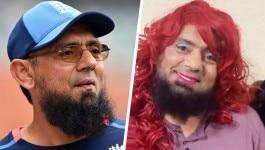 मेकअप और गुलाबी बाल-  पूर्व पाक क्रिकेटर सक़लैन मुश्ताक के साथ ये क्या हुआ?