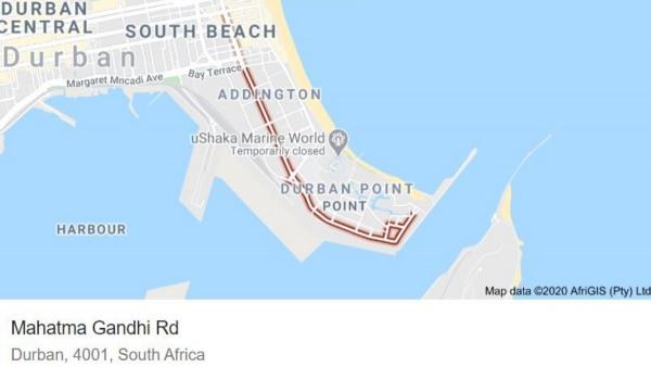 Durban Mahatma Gandhi Road