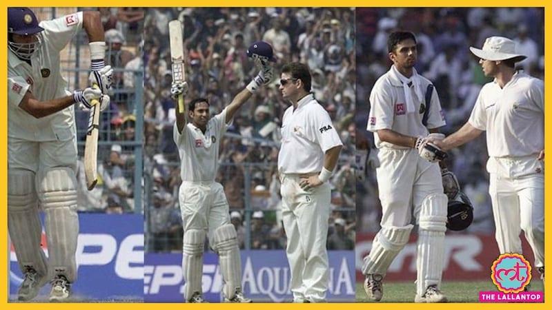 जब कलकत्ता में लक्ष्मण और द्रविड़ ने कहा- शाम तक खेलेंगे...