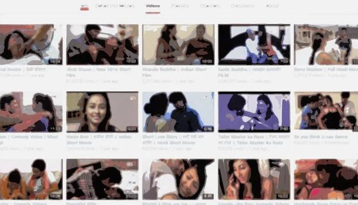 हिंदुस्तान टाइम्स की एक रिपोर्ट के मुताबिक़ 2016 तक यूट्यूब पर 500 से भी ज्यादा सॉफ्ट कोर चैनल चल रहे थे.