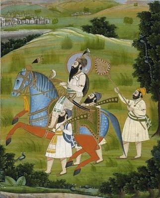 गुरू गोबिंद सिंह ने मुग़लसों के साथ कई युद्ध लड़े. 26 दिसंबर, 1666 को उनका जन्म बिहार के पटना में हुआ था. उनके जन्मस्थान पर तख्त पटना साहिब है. फोटो: विकीमीडिया