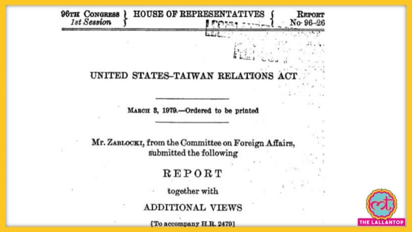 United States Taiwan Relations Act