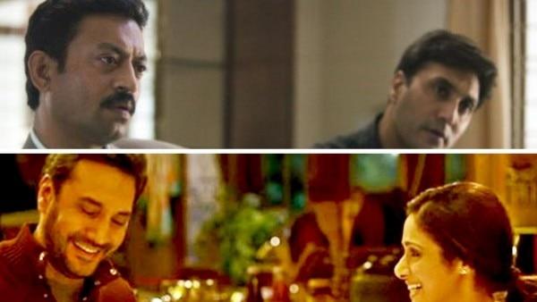 (ऊपर) इरफान के साथ 'अ माइटी हार्ट' में अदनान सिद्दीकी. (नीचे)  'मॉम' में उन्होंने श्रीदेवी के साथ काम किया था. वे उनके पति बने थे.
