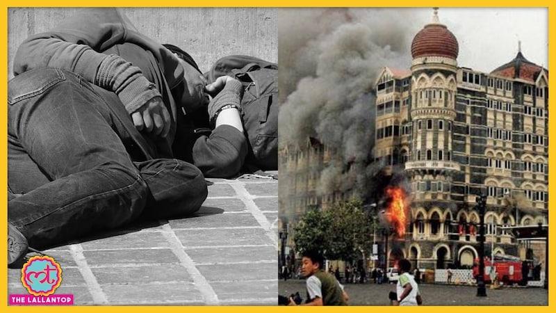 26/11 हमले के वक्त के हीरो को लॉकडाउन में फुटपाथ पर सोता देख लोग सन्न रह गए!