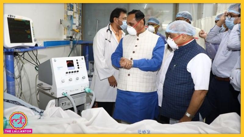 क्या गुजरात में खराब वेंटीलेटर की वजह से 300 कोरोना मरीज़ों की मौत हो गई?