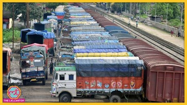 लॉकडाउन के चलते सामान सप्लाई की बड़ी जिम्मेदारी मालगाड़ियां पर आ गई है. (Photo: PTI)