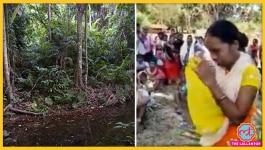 पति को माओवादियों से छुड़ाने के लिए चार दिन तक जंगल में भटकती रही महिला