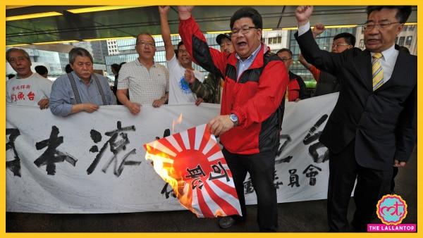 Anti Japan Protests 2012