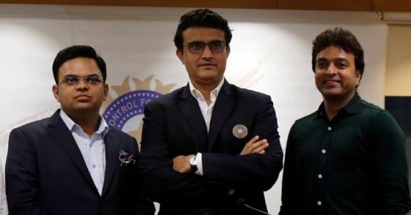 Arun Dhumal Sourav Ganguly Jay Shah