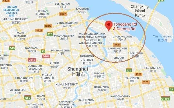 नक्शे में लाल घेरे में जो बिंदू दिख रहा है वहीं पर चीनी सेना की हैकिंग यूनिट का मुख्यालय बताया जाता है.