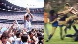 स्पेन में फुटबॉलर्स को दौड़ा-दौड़ाकर मारने वाले डिएगो माराडोना इंसान से 'भगवान' कैसे बने?