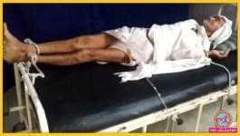 MP: क्या बिल जमा न करने की वजह से अस्पताल में 80 साल के बुजुर्ग के हाथ-पैर रस्सी से बांधे गए?