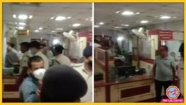 पटना के बैंक में दिन-दहाड़े 52 लाख रुपए की डकैती