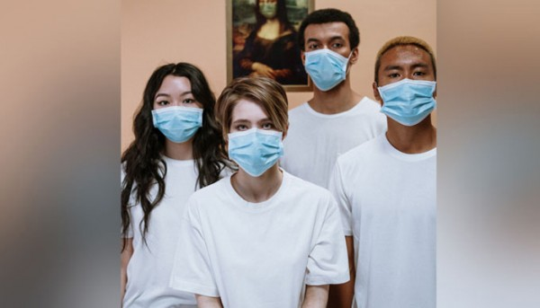 People Wearing Face Mask For Protection 3957986