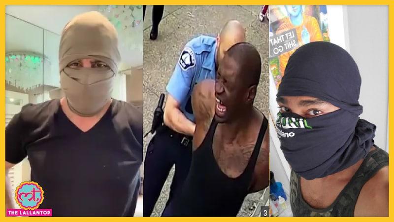 रोनित रॉय ने टीशर्ट से मास्क बनाने की टेक्नीक बताई, अमेरिका के प्रदर्शनकारियों में हिट हो गई
