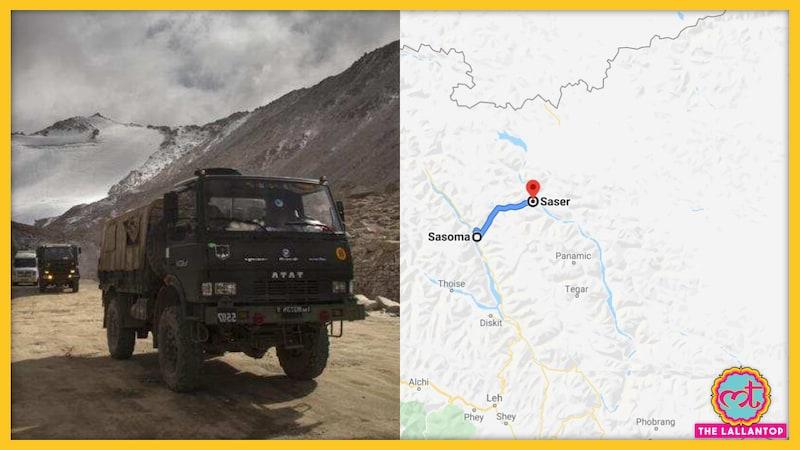 सासोम ससरे ला सड़क के बारे में जानिए, जिसे भारत लद्दाख में बना रहा है